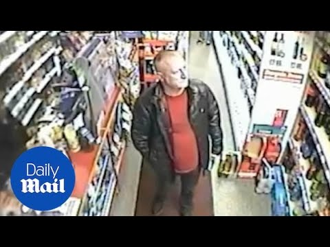CCTV Camera Catches Last Moments Of Salford 'Mr Big' Paul Massey