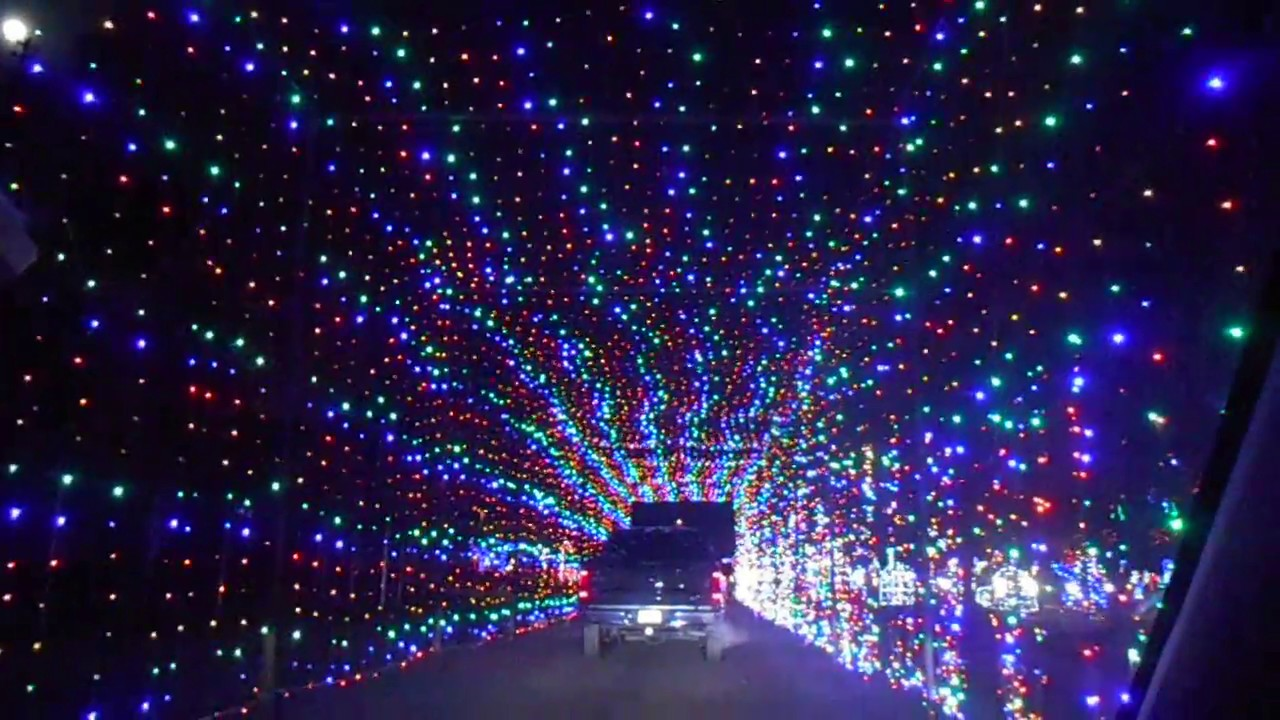 Skylands Stadium Christmas Light Show.3 Drive Thru Holiday Light Displays In New Jersey The News