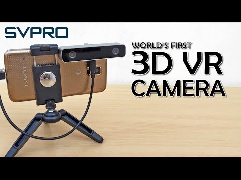 Record in 3D SVPRO 3D VR camera Unboxing Review with VR footage