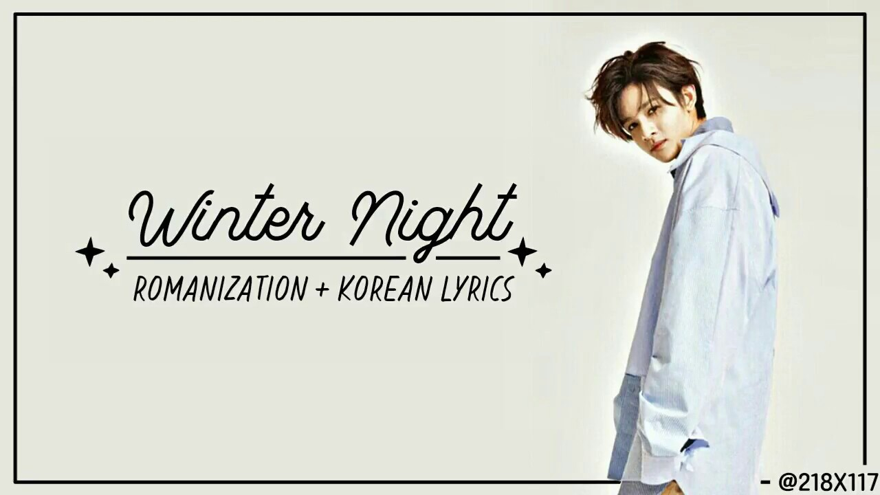 samuel winter night color coded lyrics video youtube