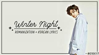 SAMUEL (사무엘) - WINTER NIGHT (겨울밤) [COLOR CODED LYRICS VIDEO]