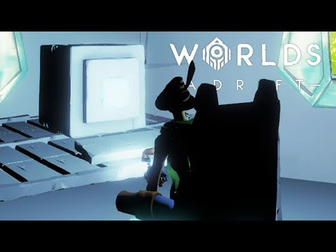 HACKING INTO THE MAINFRAME FOR SECRETS TO IMPROVE OUR SHIP DESIGN! | Worlds Adrift Closed Beta