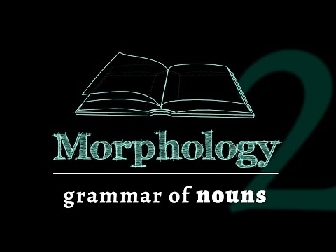 Grammar of Words: Nouns (Lesson 2 of 7)