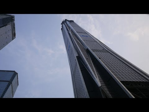SHENZHEN - Ping An Finance Center Construction in 4K Video