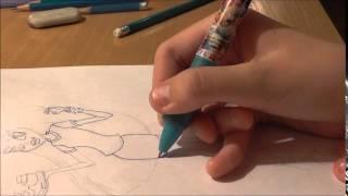 Drawing: Монстер Хай Хоулин Вульф