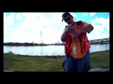 Full Fishing Report 7-1-2016  Cedar Bayou,  Roseland Park,  Baytown TX