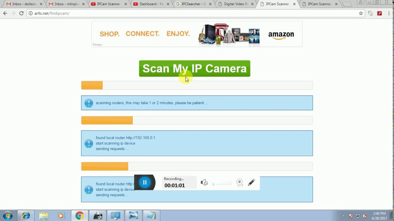 IP Camera Scanner - Find My Ip Camera