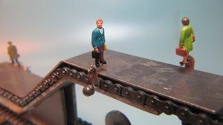 Bau einer Rolltreppe Maßstab 1:87 (H0)