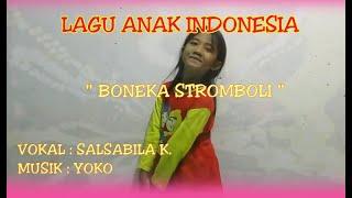 """""""Boneka stromboli"""". Lincah & Ceria - Tempo cepat. Lagu Anak Indonesia."""