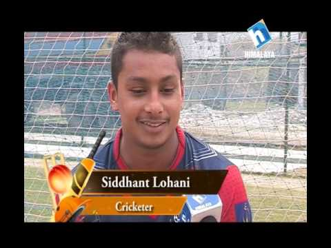 Cricket N More  -The Rising Star   Siddhant Lohani