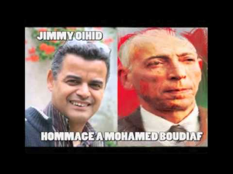 Jimmy Oihid hommage a Mohamed Boudiaf