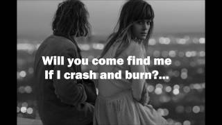 "Angus & Julia Stone - ""Crash and Burn"" Video Lyric"