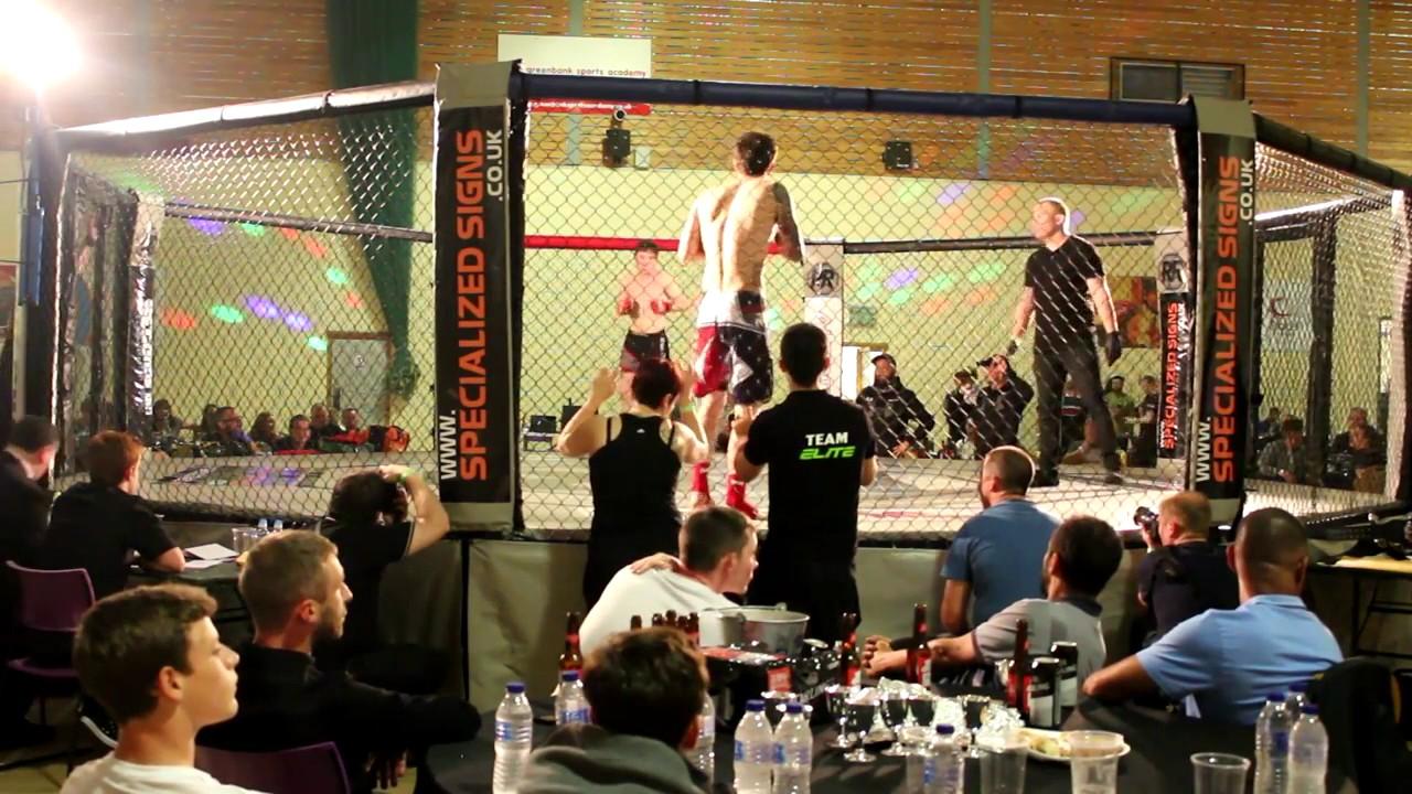 Elite Promotions Battle Ground Amature MMA bout: Marq Scott vs Callum Brown