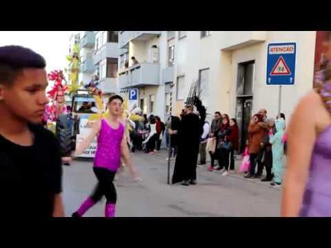 Desfile de Carnaval em Alhos Vedros 2019