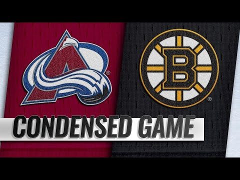 02/10/19 Condensed Game: Avalanche @ Bruins