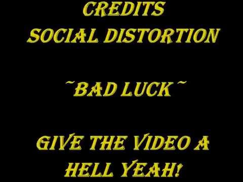 Social Distortion - Bad Luck (Lyrics)
