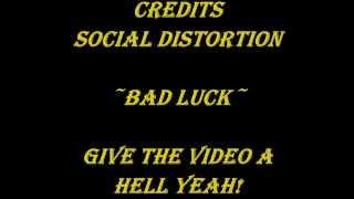 Social Distortion - Bad Luck (Lyrics)