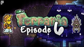 Accidentally Making The Pringles Man In Terraria! | Terraria Episode 6