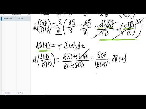 2. Black Scholes - Change of Measure (Girsanov Theorem)
