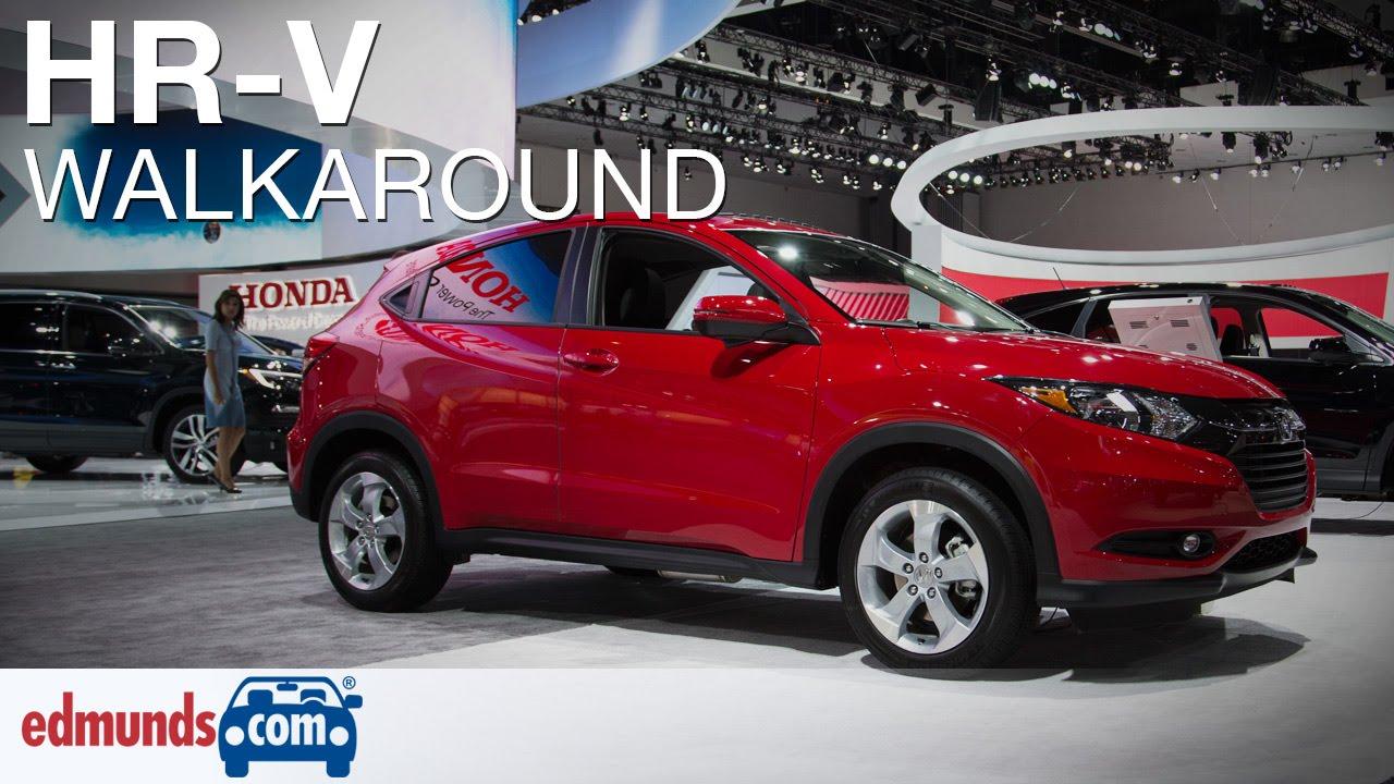 New 2016 Honda HRV Walkaround Review  YouTube