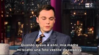 Jim Parsons @ David Letterman Show 25/04/13 SUB ITA