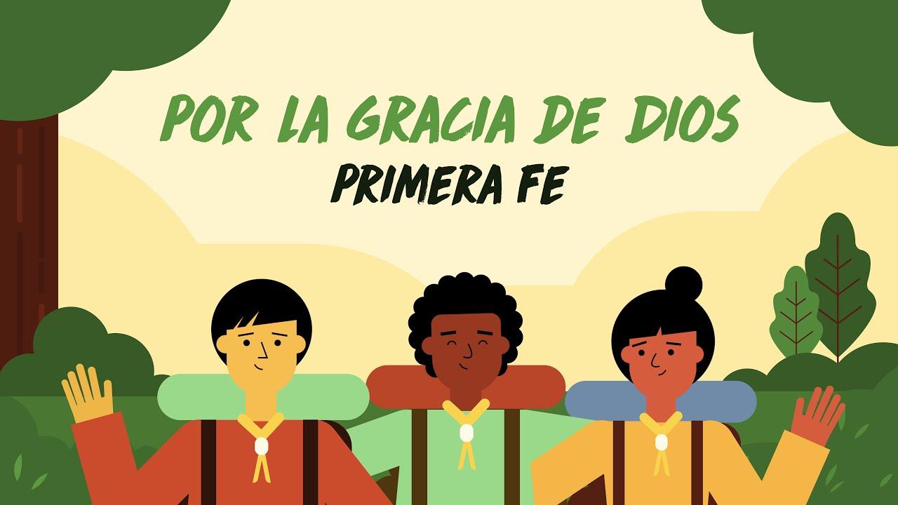 Primera Fe - Por la gracia de Dios (Video Lyric Oficial)