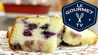 Lemon Blueberry Ricotta Pound Cake Recipe - Legourmettv