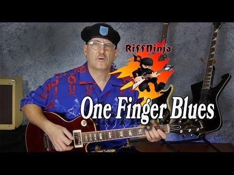 1 Finger Blues for Beginners