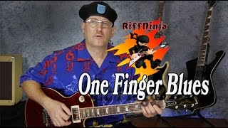 1 Finger Blues for Beginners