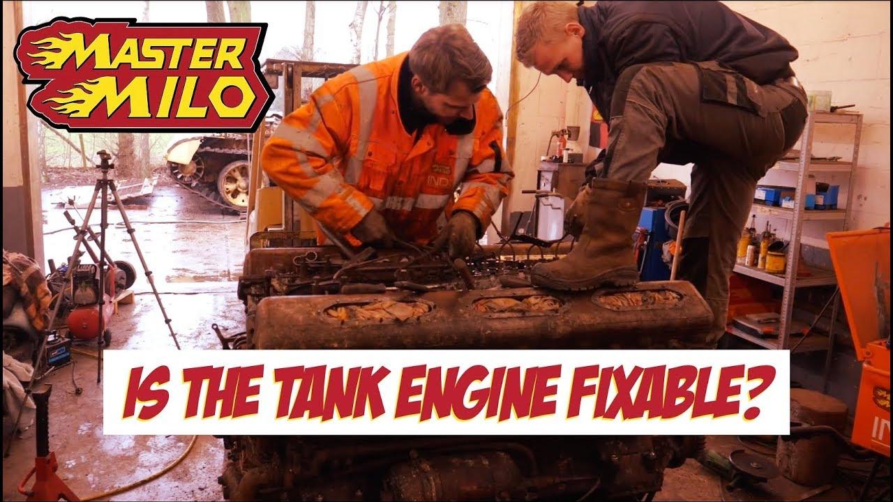 Motor z tanku T54 - Čo dokáže po 25 rokoch?