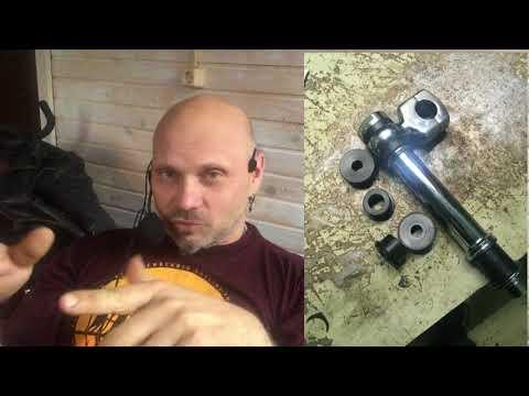 Сруль! Изготовление руля для мотоцикла. Как я его делал - весь процесс с установкой на Харлей