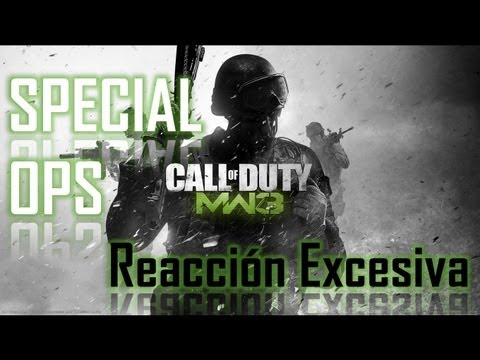 Call Of Duty: Modern Warfare 3 - Spec Ops - Reacción Excesiva - HD