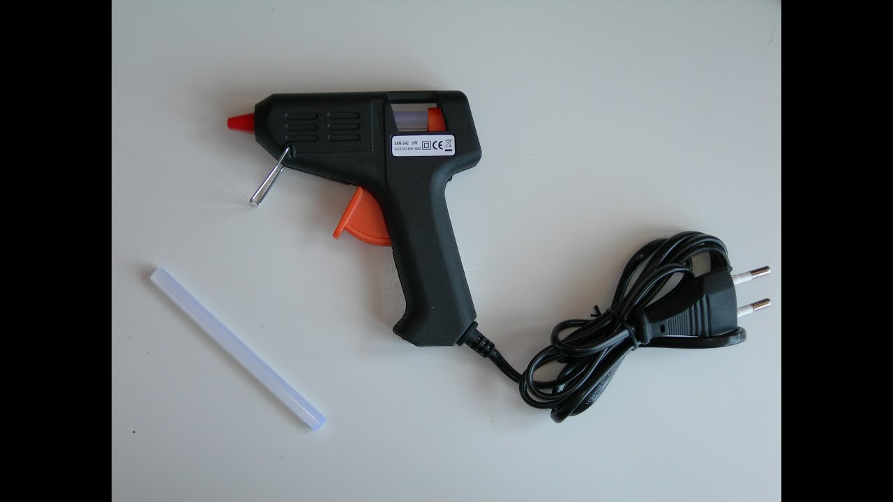 unboxing pistola pegamento termofusible youtube