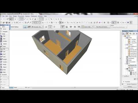 ArchiCAD for beginner (Drawing & Layout)
