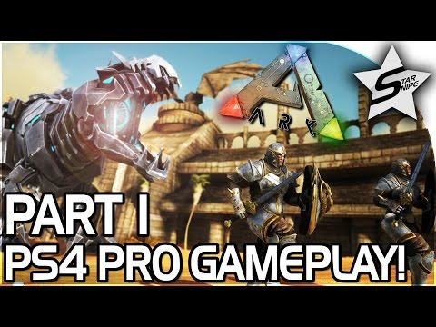 ARK PS4 LAUNCH, FIRST IMPRESSIONS, & GIVEAWAY! - ARK Survival Evolved PS4 PRO GAMEPLAY Part 1 (Ep 1)