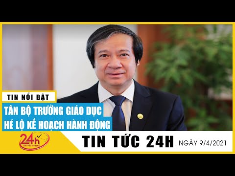 Toàn cảnh Tân Bộ Trưởng Giáo Dục Nguyễn Kim Sơn hé lộ kế hoạch hành động và mong mỏi gửi BT |  TV24h