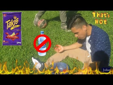 the takis challenge without water part 2 (almost chocked)