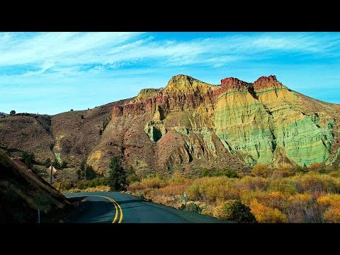 John Day Fossil Beds National Monument,  Oregon 4K UHD
