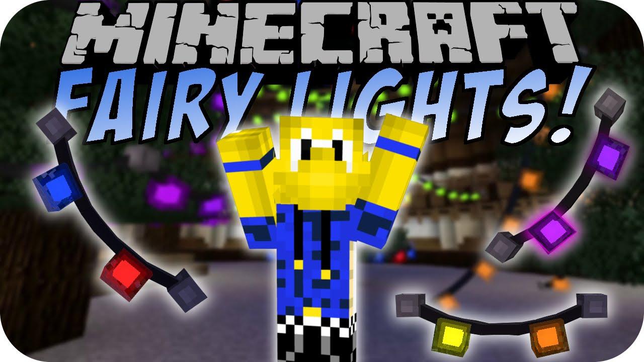 Minecraft Fairy Lights Mod Deutsch Youtube