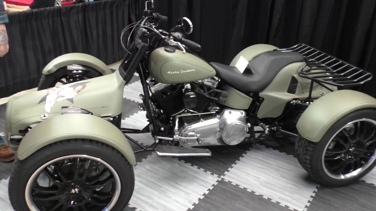 Harley-Davidson QUAD from Q-TECH - YouTube