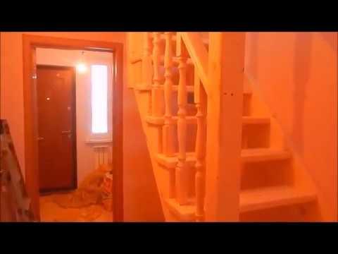 Изготовление лестницы (тетива + косоур), монтаж /ступенька 48