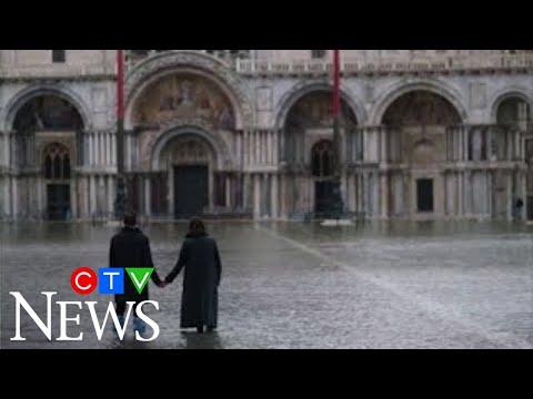 Venice flooded after new US$8-billion dam fails