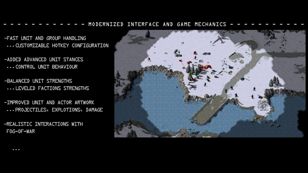 Fans Remake Classic RTS Games Like Command & Conquer, Red Alert