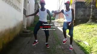 *Blue Army Dancers*_Popcan Dream_ Costa Rica Dancehall.