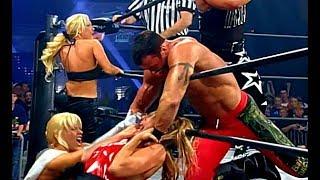 (720pHD): WCW Thunder 05/20/99 - Randy Savage (w/Madusa/Mona/Gorgeous George) vs. Buff Bagwell