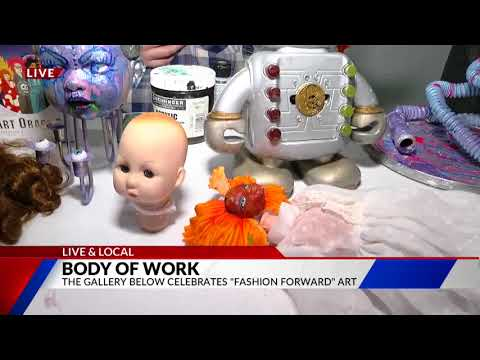 Arty Party Trashy Fashion at The Gallery Below Live & Local on FOX21 Morning News