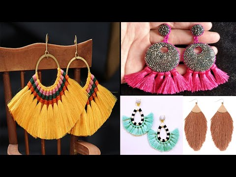 Silk Thread Jewellery Making at home