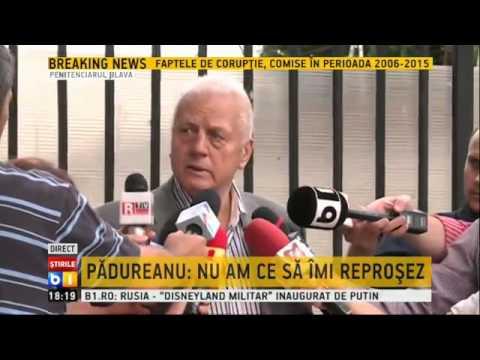 Jean Pădureanu, declarații la eliberarea din arest