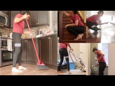 Hindi Clean My Entire House With Me | Cleaning Vlog || Indian Mom Vlogger