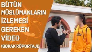 Ateistin Müslüman Genç Karşısında Dili Tutuldu ! MÜSLÜMAN OLDU MU? ( Sokak Röportajı ) - Onur Kaplan